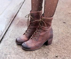 fashion, beautiful, and boots image