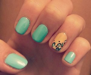 Leo, leopard, and nail art image