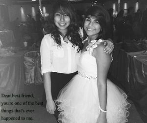 best friends, quince, and friendship image
