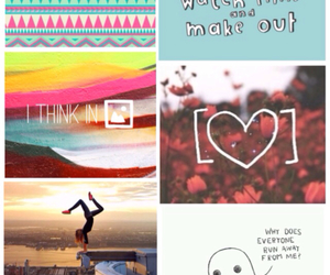 Collage, ghost, and love image