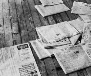 black, Paper, and magazine image
