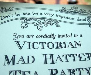alice in wonderland, awesome, and mad hatter image