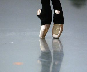 ballet, point shoes, and legwarmers image