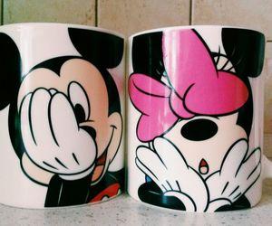 coffee, couple, and disney image