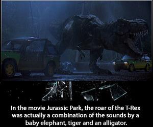 Jurassic Park, movie, and true image