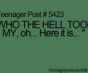 teenager post, funny, and teenager image