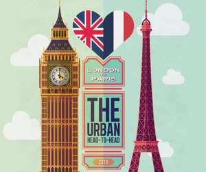 Big Ben, eiffel tower, and london image