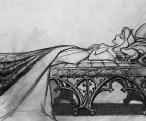 disney, sleeping beauty, and drawing image