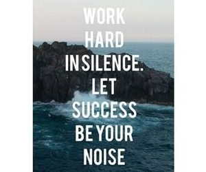 motivation, noise, and quote image