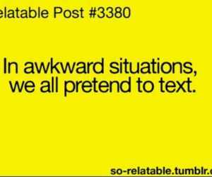 lol, funny quotes, and awkward situations image