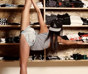 girl, swag, and shoes image