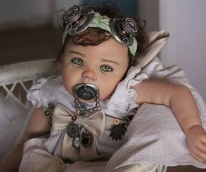 steampunk, design, and doll image