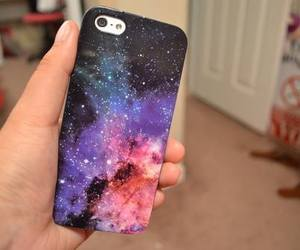 galaxy, iphone, and cool image