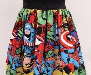 Marvel, skirt, and Hulk image