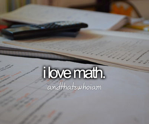math and and that's who i am image