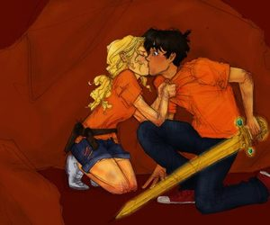 percabeth, percy jackson, and percy image