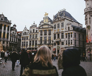 brussels, bruxelles, and grande place image