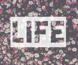 life and flowers image