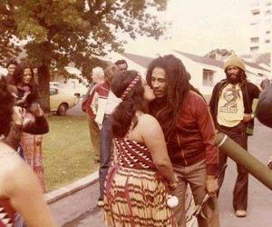 bob, bob marley, and hippie image