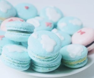 blue, candy, and sky image