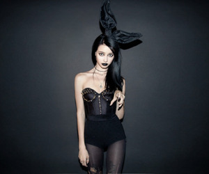 girl, black, and felice fawn image