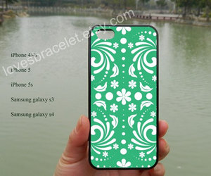 pattern, iphone 4 case, and flowers case image