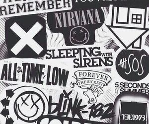 nirvana and all time low image