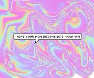 wifi, mom, and grunge image