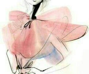 art, fashion, and pink image
