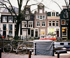 amsterdam, vintage, and house image