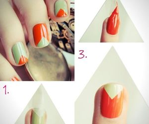 nails, cool, and diy image