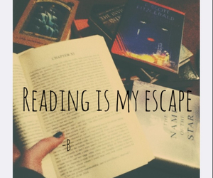 escape, book, and grunge image