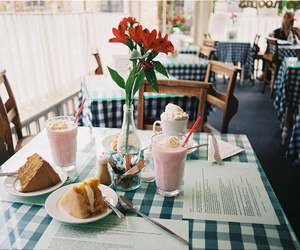 food, vintage, and flowers image