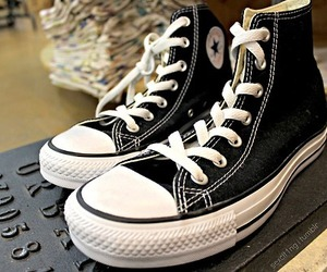 all star, black, and style image