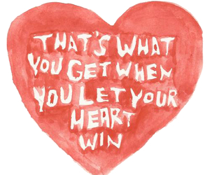 hearts, Lyrics, and that's what you get image