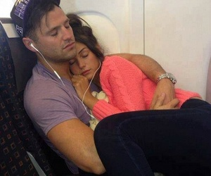 airplane, boyfriend, and cute couple image