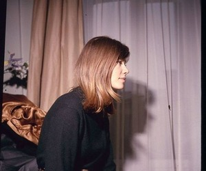 chanson, girl, and francoise hardy image