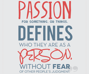 nerd, passion, and quote image