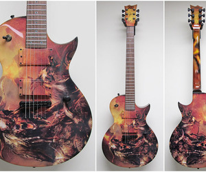custom, guitar, and electric image