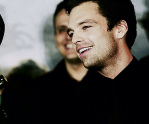 sebastian stan, handsome, and bucky barnes image