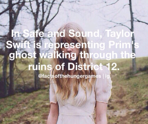 prim, hunger games, and safe and sound image