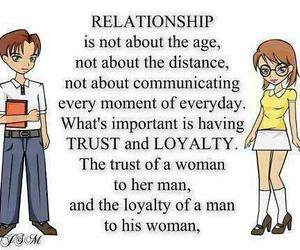 Relationship, distance, and loyalty image