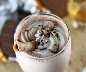 chocolate, milkshake, and whiskey image