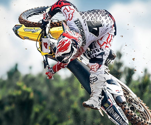 motocross, photography, and supercross image