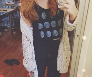 fashion, tumblr, and high waisted jeans image