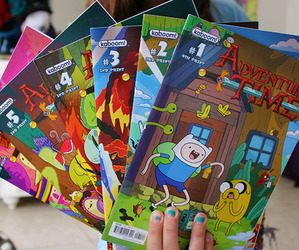 adventure time, quality, and comic image