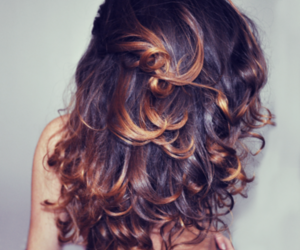beauty, curly, and woman image