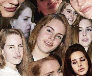 lana del rey, funny, and Collage image