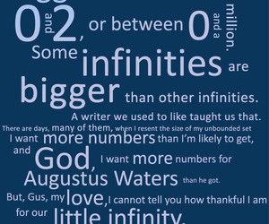 quotes, tfios, and intinities image