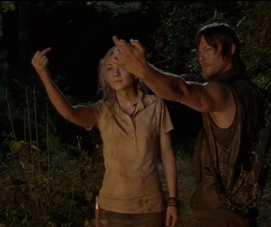 walking dead, beth greene, and daryl dixon image